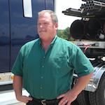 December Trucker of the Month Leonard Bower