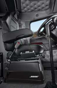 Bose Ride suspension seat.