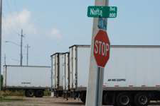 NAFTA trade with Mexico is increasing but still trails a year ago. (Photo Todd Dills)