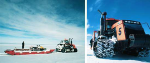Introducing the 'ice road truckers' of the South Pole