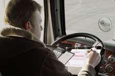 driver log book OV