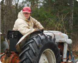 man-and-tractor