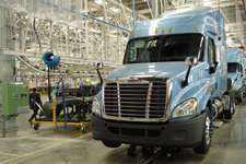 Daimler's Freightliner plant in Saltillo, Mexico, has shift scheduling flexibility. (Photo Jack Roberts)