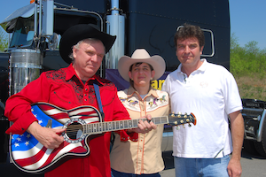 "Truck driver for governor: ""Singin' Sam"" Little's Alaska campaign song"