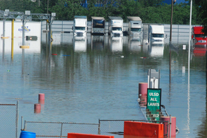 Flooding in Nashville, from basements to truckstops