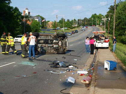 Jazzy and Lee rear-ended in N.C.
