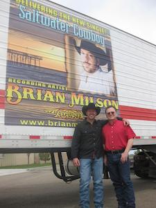 Country artist showcased on Texas fleet's reefer vans