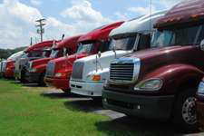 New truck orders surge 84% in May
