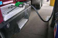 Diesel prices fall