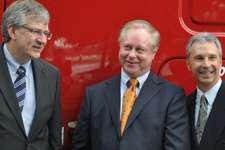 U.S. Xpress exec gets milestone Freightliner