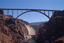 Hoover Dam bridge dedicated