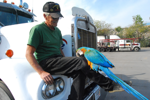 'Bird Business' with owner-operator Larry Leckrone