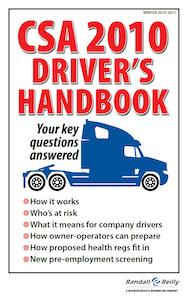 CSA 2010 Driver's Handbook now live