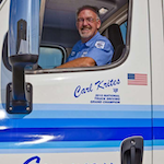 Truck driving champion wins Cascadia