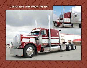 Sioux City Truck Sales' Peterbilt calendar