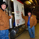 Hauler of U.S. Capitol Christmas tree on national tour