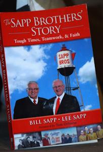 Truck stop operators Sapp Bros. pen autobiography