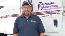 2011 Trucker of the Year named