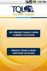 Android 'Freight Finder' app from TQL