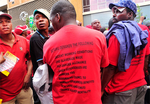 South African driver strike approaching closure after a violent week