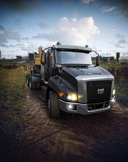 Vids of the new Caterpillar truck -- the CT660