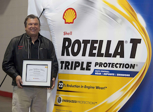 Owner-operator Jerry Kissinger named to new Shell 'Million-Mile' club