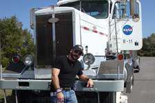 American Trucker features NASA trucks