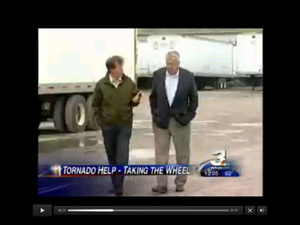 Ohio small fleet providing tornado relief