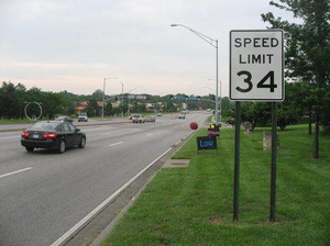 New speed governor: Public art on the roadways