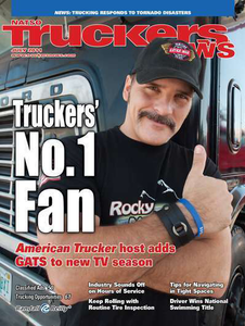 Robb Mariani on the cover of Truckers News in July 2011. Read that story via this link.