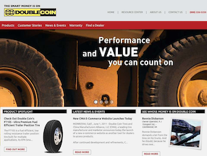Double Coin relaunches website