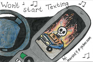 Texting temptation: A little ditty -- and more -- to help you resist