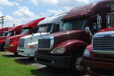 Used truck sales drop sharply in July