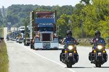 Convoys raise funds for Special Olympics