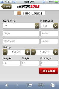 Want A First Look At Truckersedge S New Mobile Site