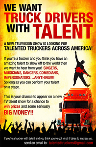 'Talented truckers' TV show looking for ... talented truckers