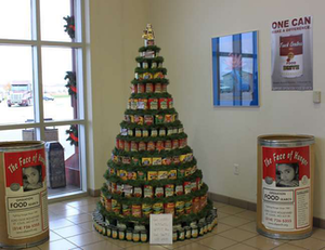 Truck Centers Inc.'s Christmas food drive a success