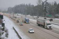 Ice storm hits Washington