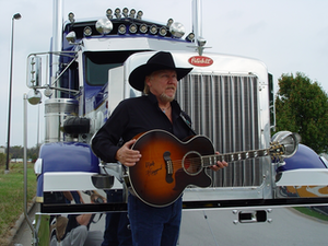 Top of his game: Leland Martin in Truckers News this month