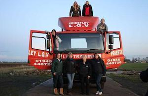 British TV show features female hauliers...