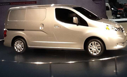 Nissan enters compact van market