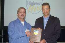Schiotis named Highway Hero winner
