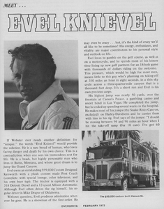 Download the 1973 Overdrive interview with Evel Knievel