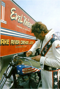 Evel Knievel's driver and the 1973 Overdrive interview