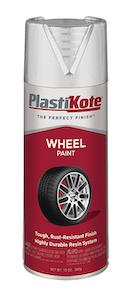 Durable, long-wear wheel paint