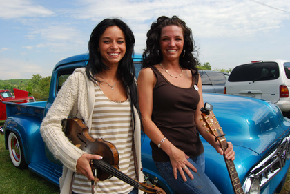 Holloway Sisters, good music, nice truck, and a joke