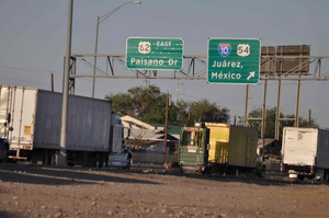 U.S. trucker detained by Mexican authorities