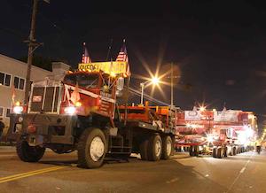 Emmert International hauls 340-ton 'rock show'