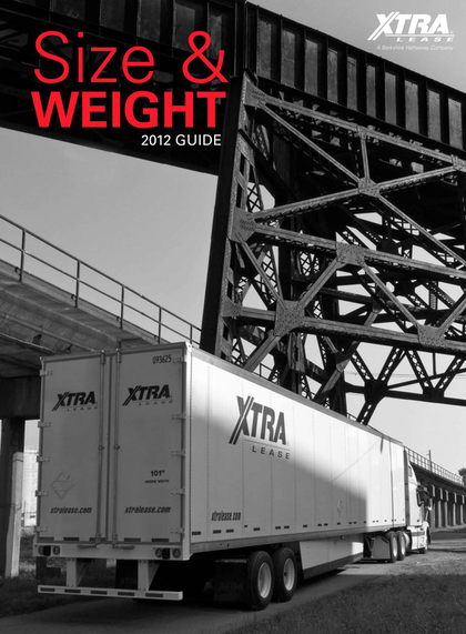 Get the Xtra Lease size/weight guide in free download