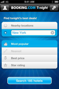 New hotel-search iPhone app from Booking.com